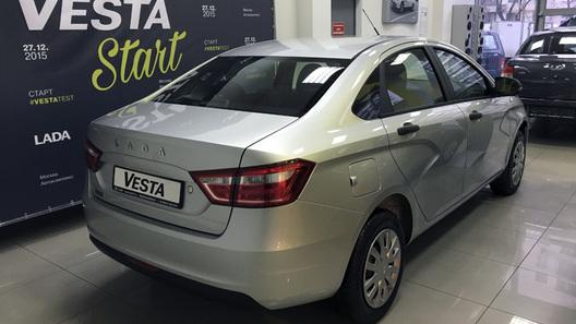 Самые дешевые Lada Vesta поступили к дилерам