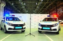Lada Vesta отправилась на службу в полицию