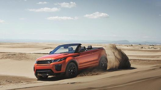 Кабриолет от Range Rover: названы российская цена и сроки выхода