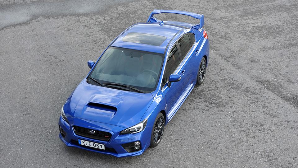 Subaru превратит седан WRX STI в гибрид