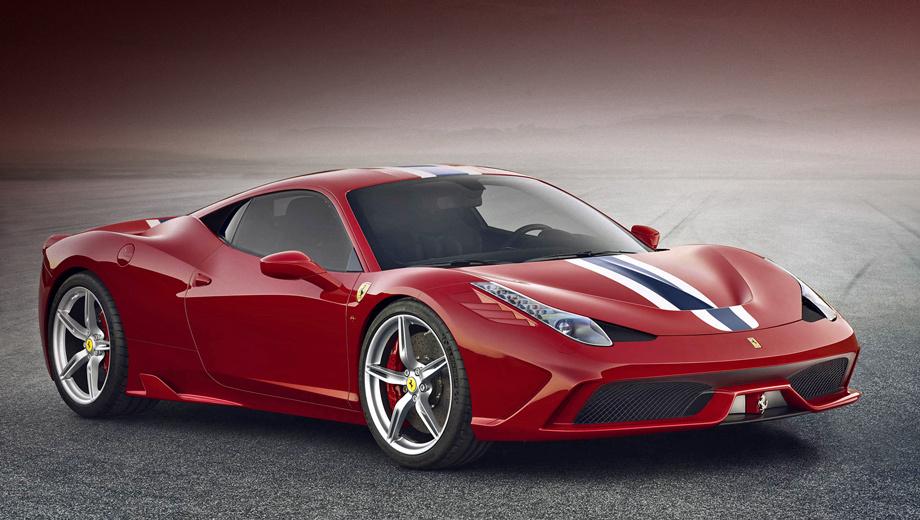 458 Speciale: самый уникальный из Ferrari