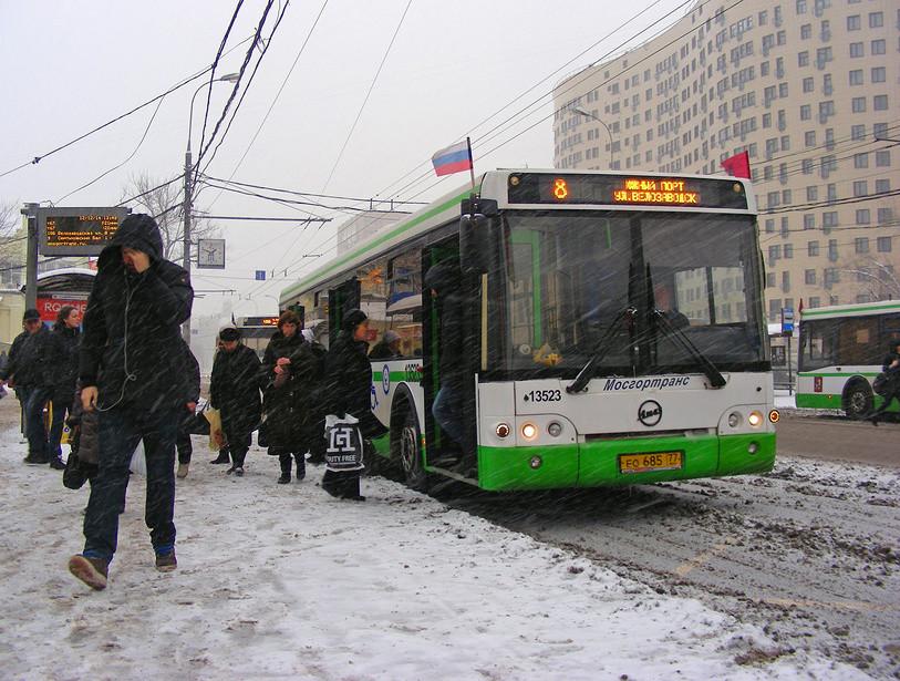 В Москве могут появиться «снежные билеты» для водителей