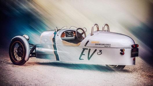 Трехколесный ретроавтомобиль превратят в гибрид