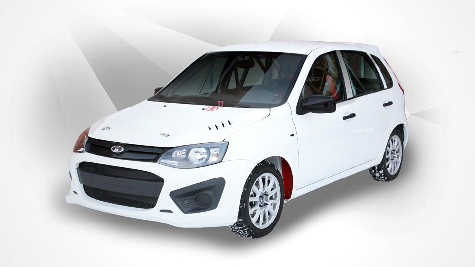 «АвтоВАЗ» начал выпуск 155-сильной гоночной «Калины»