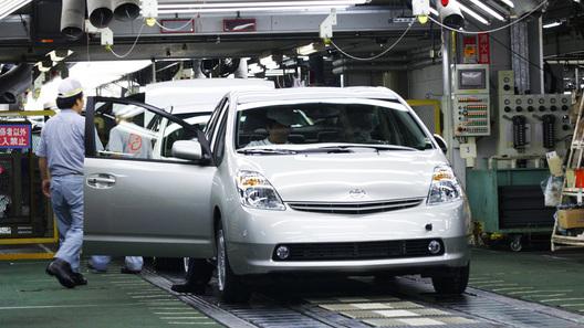 Toyota останавливает производство в Японии