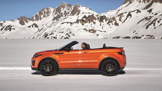 Кабриолет от Range Rover уже доступен для заказа в России