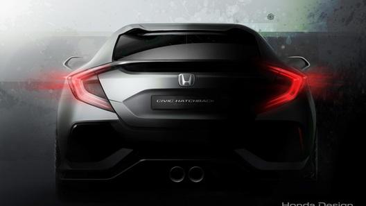 Honda привезет в Женеву новейший Civic-хэтчбек