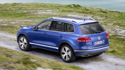 У Volkswagen Touareg в России урезали линейку двигателей