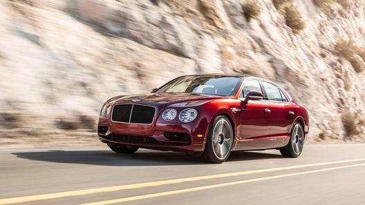 В Bentley слегка разозлили восьмицилиндровый Flying Spur