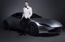 Aston Martin Джеймса Бонда продали за $3,42 миллиона
