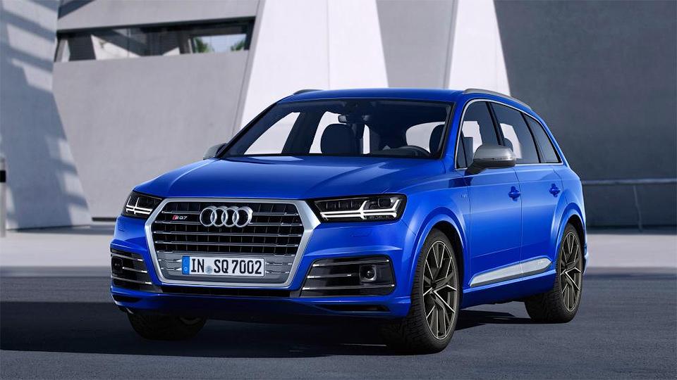 «Заряженный» Audi Q7 получил дизель V8 с тройным наддувом