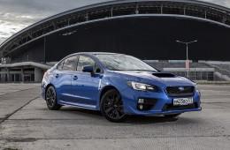 Subaru остановила в России продажи седана WRX