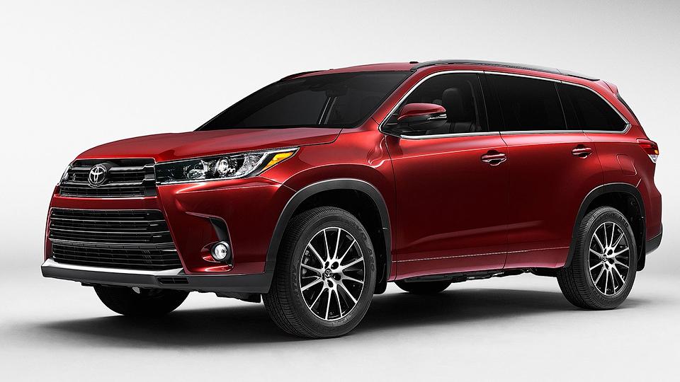 Toyota Highlander получит 8-ступенчатый «автомат»
