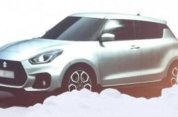 Рассекречена внешность нового Suzuki Swift