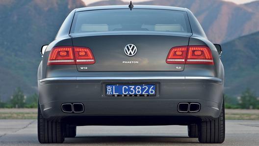 Volkswagen не от хорошей жизни снял с конвейера седан Phaeton