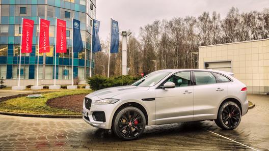 Первый кроссовер в истории Jaguar получил российский ценник