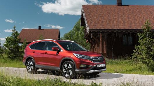Самый дешевый Honda CR-V: названы российские цены