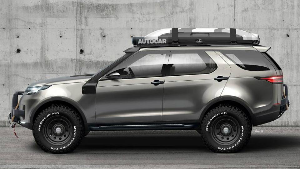 Новый Land Rover Discovery приспособят к тяжелому бездорожью