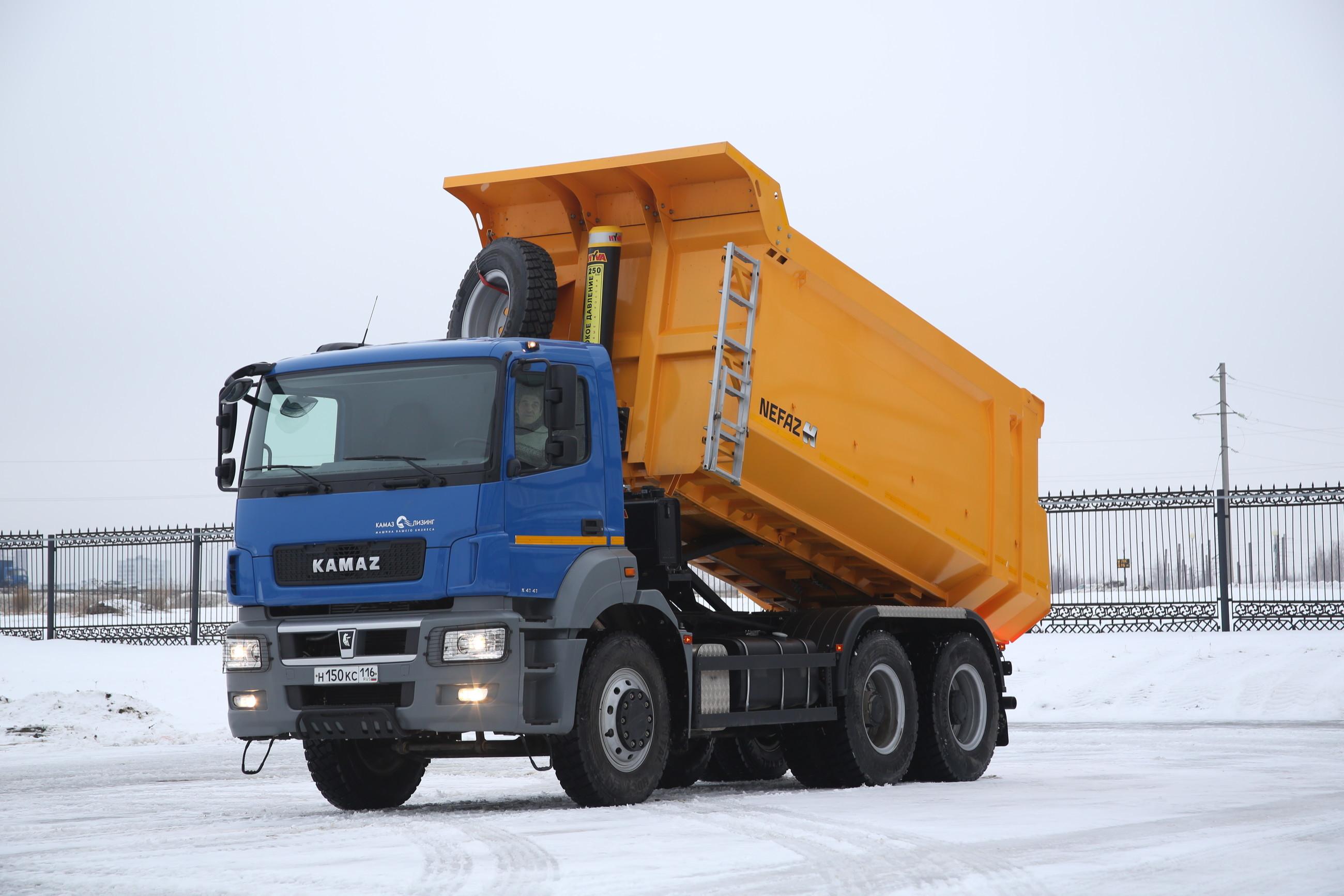 КамАЗ хочет полностью перейти на кабины от «Мерседесов»