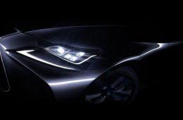 Lexus приоткрыл обновленный седан IS до его премьеры