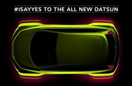 Datsun продолжает дразнить своим первым кроссовером