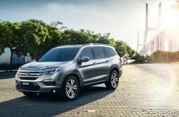 Honda Pilot нового поколения оценили в три миллиона рублей