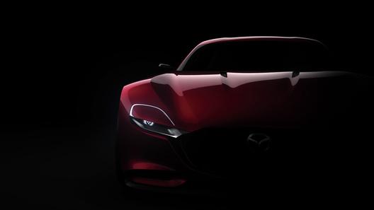 Mazda продолжает дразнить мир роторным суперкаром