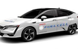 Водородная Honda Clarity получила автопилот