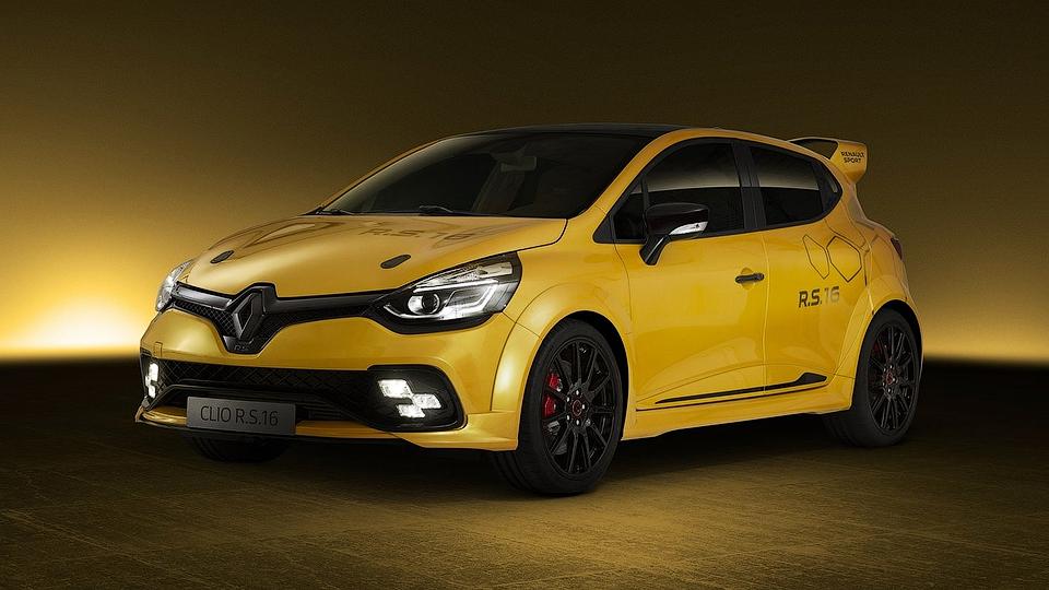 Компания Renault разработала хардкорный Clio