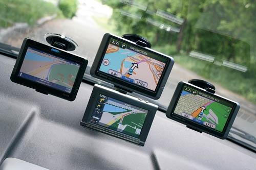 Принцип работы навигатора в машине