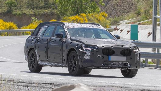 Volvo тестирует конкурента Audi A6 Allroad
