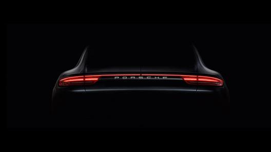 Porsche опубликовал первое фото нового поколения модели Panamera