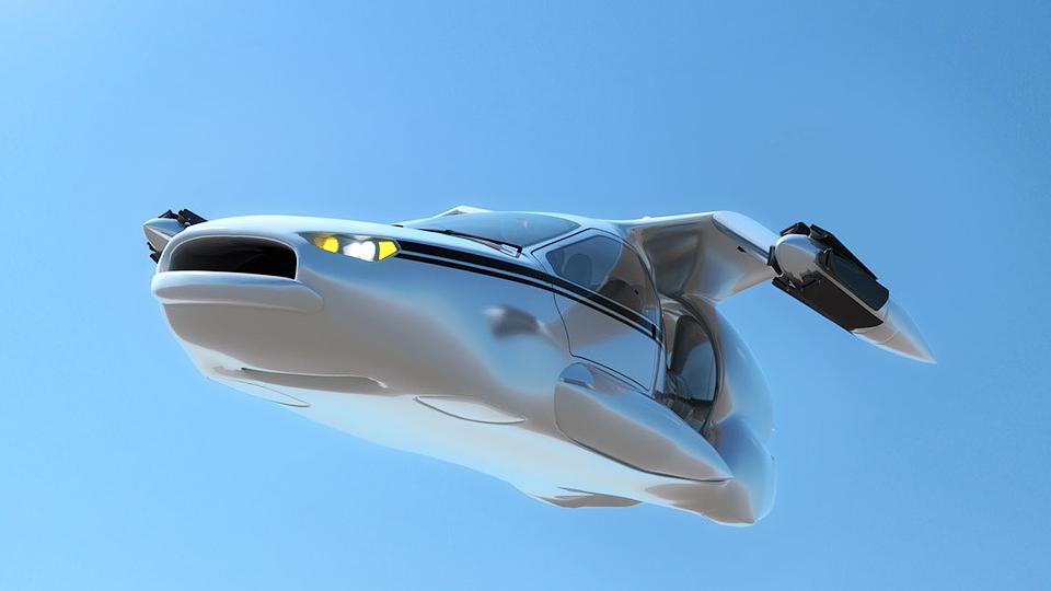 Сооснователь Google начал разработку летающих автомобилей