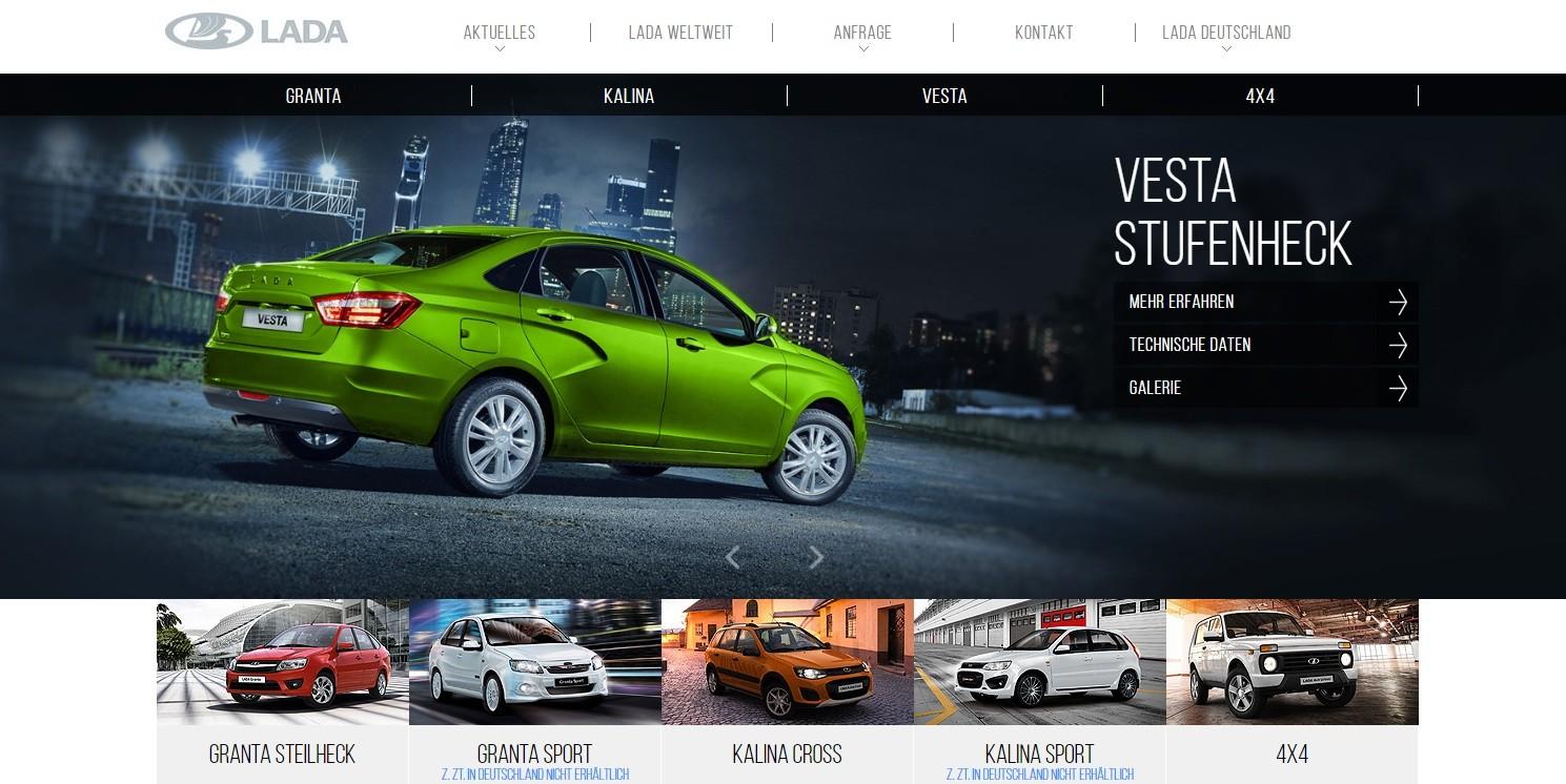 АвтоВАЗ привлечет европейцев новым сайтом
