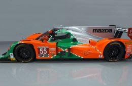 Гоночную «Мазду» раскрасили цветами чемпионской машины «Ле-Мана»