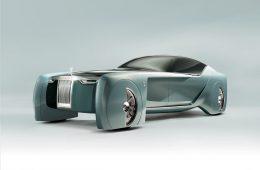 Rolls-Royce показал концепт с квадратными колёсными арками