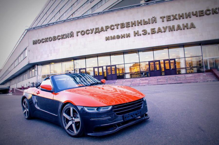 В Севастополе представили родстер «Крым»