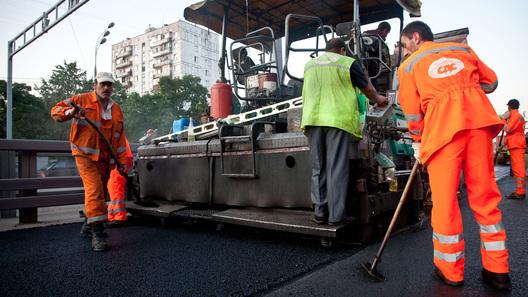 В России сокращается строительство новых дорог
