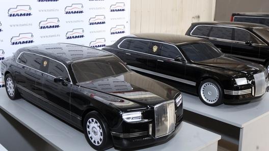 Новый лимузин для президента РФ прошел проверку на безопасность