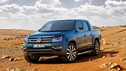 VW Amarok с 6-цилиндровым дизелем появится в России в следующем году