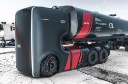 Дизайнеры придумали для Audi две электрические фуры
