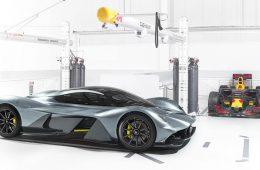 Представлен совместный гиперкар Aston Martin и Red Bull