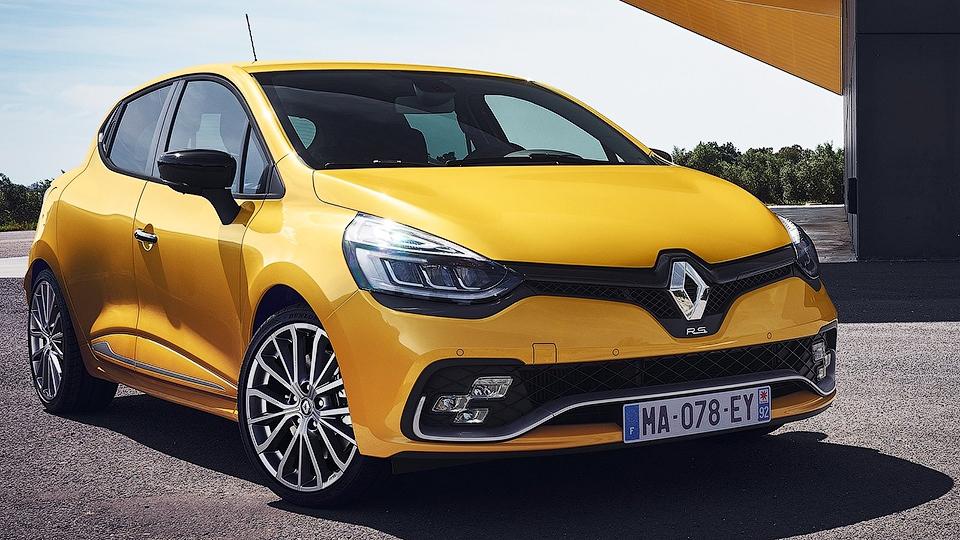 Хот-хэтч Renault Clio RS обновился