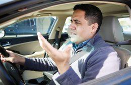 Три четверти американских водителей сознались в агрессивном вождении