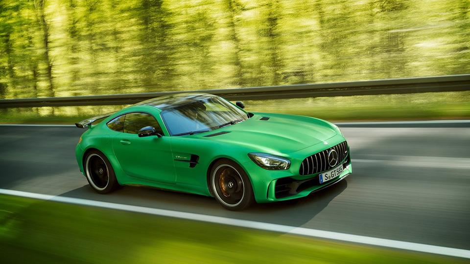 Mercedes-Benz ограничит тираж AMG GT R