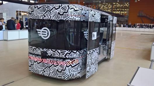 Миру показали первый российский автобус-беспилотник