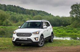 Объявлены цены на кроссовер Hyundai Creta