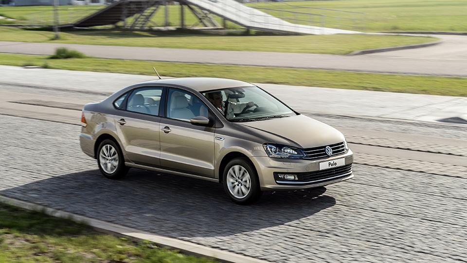 Российские седаны VW Polo начали поставлять в Мексику