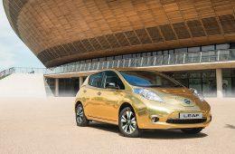 Nissan подарит олимпийским чемпионам Рио золотые электрокары