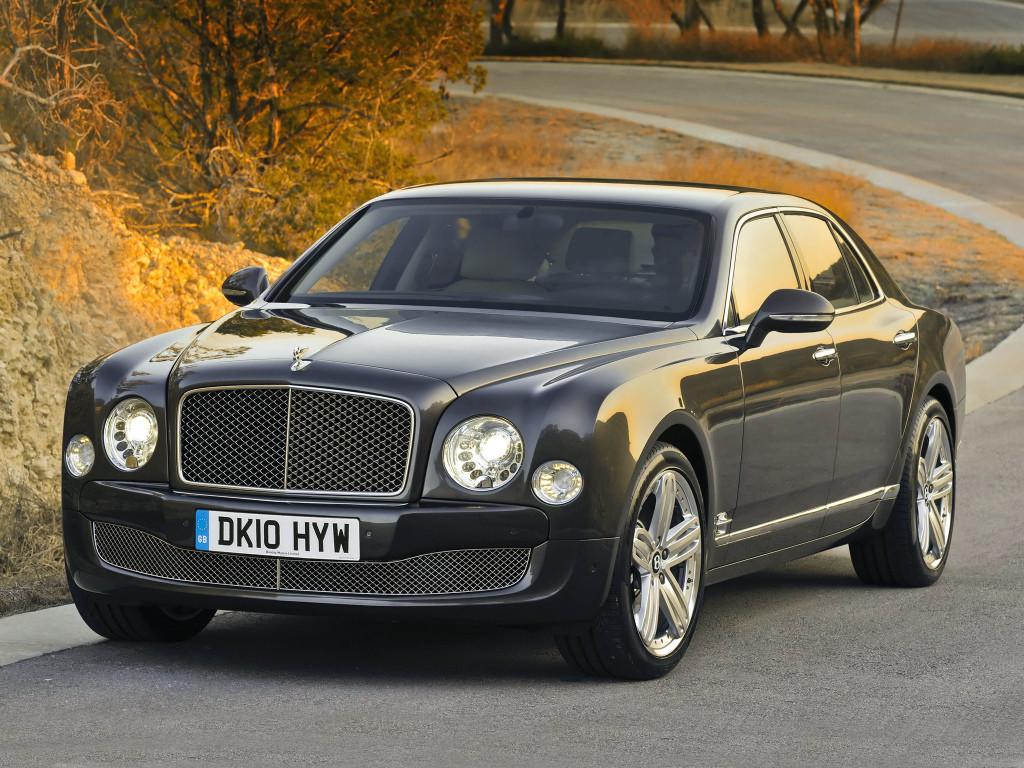 Bentley Mulsanne превратят в электромобиль